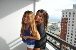 OPP on the balcony