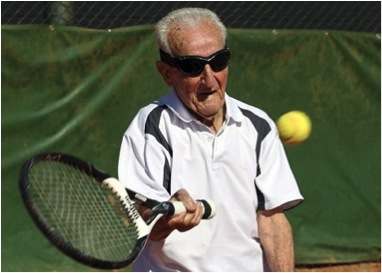 """17-year-old """"whipper snapper"""" Tyler Bangly went out to the tennis court for his #FFF"""